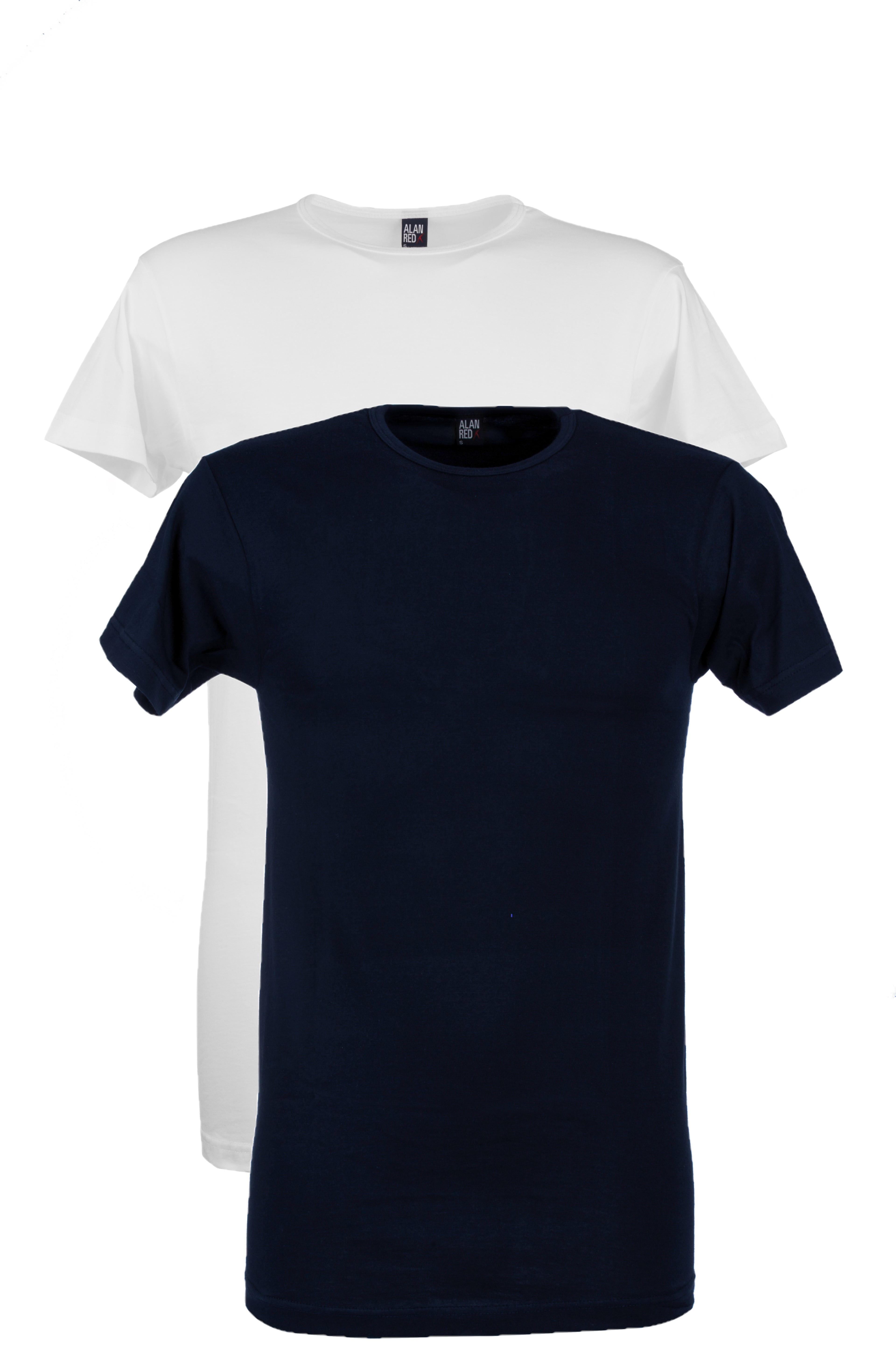 Alan Red Derby  - navy/wit 2-pack