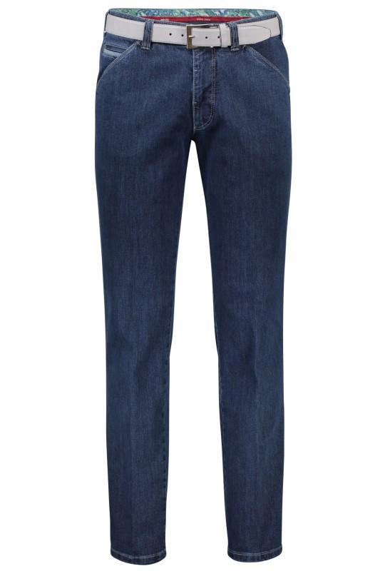 Meyer jeans, Chicago, donkerblauw, met steekzak