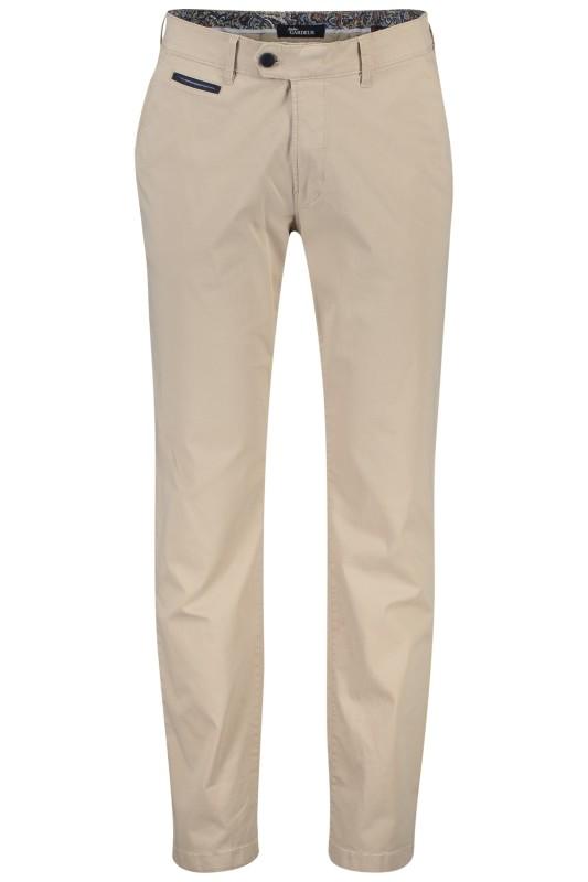 Gardeur chino model Benny 3, cotton flex, beige