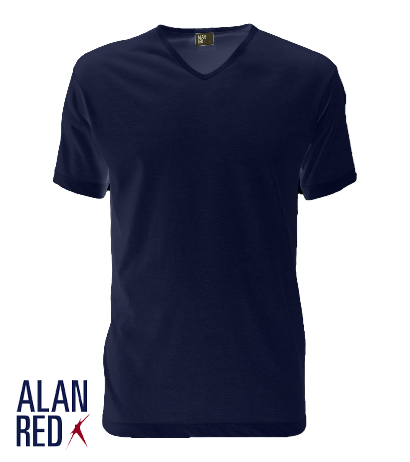 Alan Red Vermont - navy 1-pack