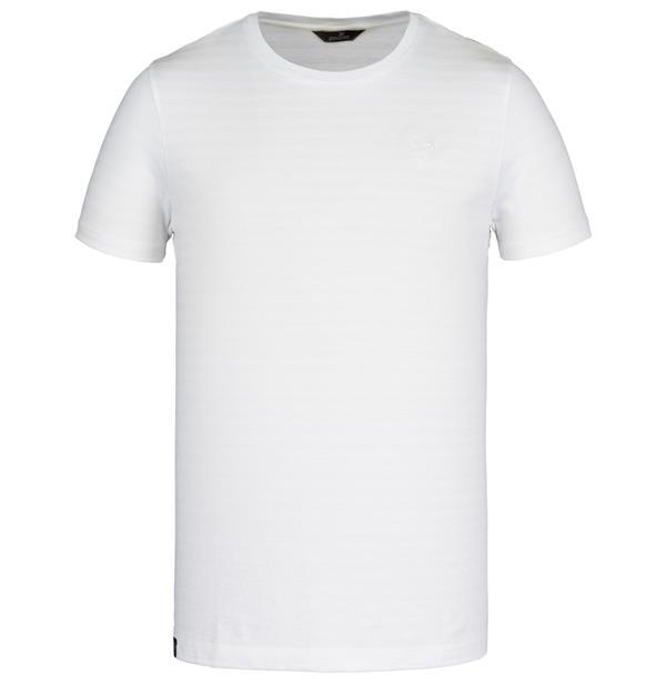 Vanguard t-shirt, wit, streeppatroon