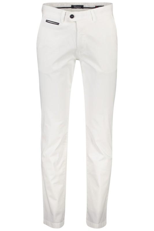 Gardeur chino model Benny 3, cotton flex , wit