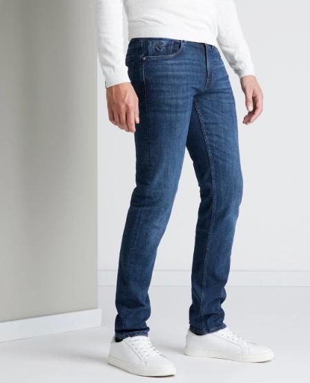 Vanguard jeans, V7 Rider, steel  blue wash, VTR515-SBW