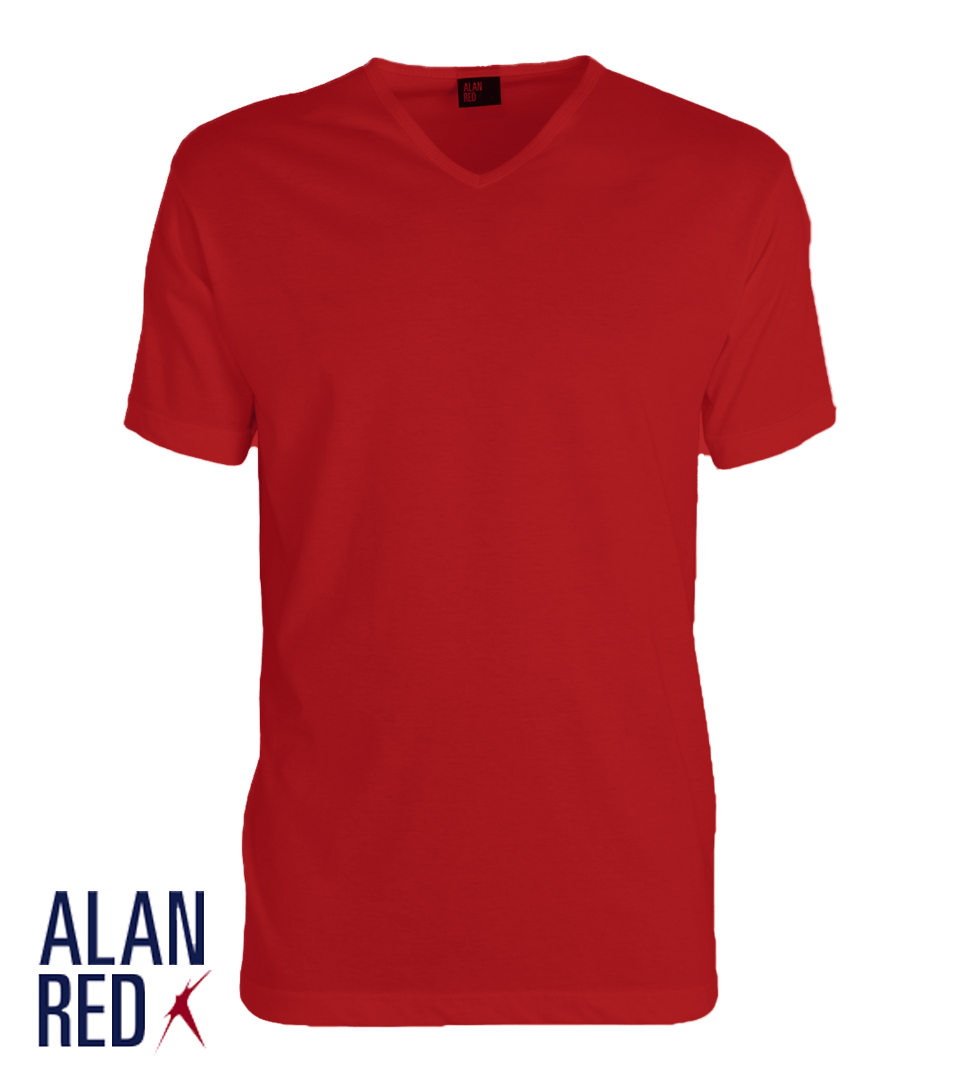 Alan Red Vermont - rood 1-pack