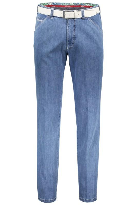 Meyer jeans, Chicago, lichtblauw, met steekzak