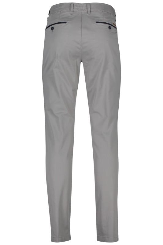 Gardeur chino model Benny 3, cotton flex, grijs